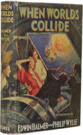 Books:First Editions, Edwin Balmer and Philip Wylie When Worlds Collide. (NewYork: Frederick A. Stokes Company, 1933), first edition, 344 pag...