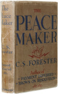 Books:First Editions, C. S. Forester: The Peacemaker. (London: William HeinemannLtd., 1934), first edition, 341 pages, bound in green boards ...