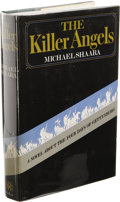 Books:First Editions, Michael Shaara The Killer Angels. (New York: David McKayCompany, Inc., 1974), first edition, 374 pages, blue-gray boar...