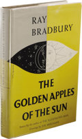 Books:First Editions, Ray Bradbury The Golden Apples of the Sun. (New York:Doubleday and Company, Inc., 1953), first edition, 250 pages,jack...