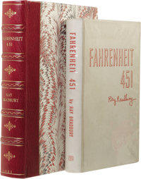Ray Bradbury: Extremely Rare Signed First Edition of Fahrenheit 451 with Asbestos Boards. (New York: Ballantine Book
