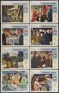 """Movie Posters:Adventure, The Mississippi Gambler (Universal International, 1953). Lobby CardSet of 8 (11"""" X 14""""). Adventure. Starring Tyrone Power, ... (Total:8 Items)"""