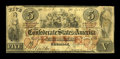Confederate Notes:1861 Issues, T31 $5 1861. This is a snappy Fine $5 with uniform wear and especially nice edges for the grade.. From The William A. ...