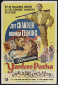 "Movie Posters:Adventure, Yankee Pasha (Universal, 1954). One Sheet (27"" X 41""). Adventure.Starring Jeff Chandler, Rhonda Fleming, Mamie Van Doren an..."