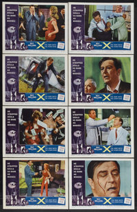 """X-The Man With the X-Ray Eyes (AIP, 1963). Lobby Card Set of 8 (11"""" X 14""""). Science Fiction. Starring Ray Mill..."""