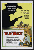 "Movie Posters:Western, Backtrack! (Universal, 1969). One Sheet (27"" X 41""). Western. Starring Neville Brand, James Drury, Doug McClure and Ida Lupi..."