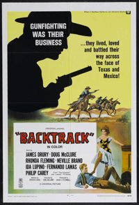 "Backtrack! (Universal, 1969). One Sheet (27"" X 41""). Western. Starring Neville Brand, James Drury, Doug McClur..."