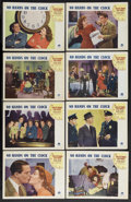 """Movie Posters:Mystery, No Hands on the Clock (Paramount, 1941). Lobby Card Set of 8 (11"""" X14""""). Mystery. Starring Chester Morris, Jean Parker, Ros... (Total:8 Items)"""