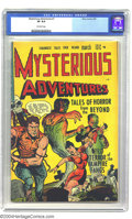 Golden Age (1938-1955):Horror, Mysterious Adventures #1 (Story Comics, 1951) CGC VF 8.0 Off-whitepages. Here is a nice copy of the first issue for one of ...