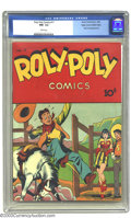 Golden Age (1938-1955):Miscellaneous, Roly Poly Comics #11 Mile High pedigree (Green Publishing Co., 1946) CGC NM- 9.2 White pages. Weird? Oddball? You bet! This ...