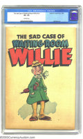 Golden Age (1938-1955):Non-Fiction, The Sad Case of Waiting-Room Willie #nn (American Visuals Corp.,1950) CGC VF+ 8.5 Off-white pages. This is a scarce 16-page...