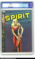 Golden Age (1938-1955):Superhero, The Spirit #22 (Quality, 1950) CGC VF+ 8.5 Cream to off-white pages. Will Eisner is one of the greatest comic artists of all...