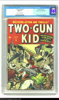 Golden Age (1938-1955):Western, Two-Gun Kid #3 Mile High pedigree (Marvel, 1948) CGC NM 9.4Off-white to white pages. This third issue bears an incredible a...
