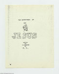Silver Age (1956-1969):Alternative/Underground, Adventures Of Jesus #nn - Second and Third printings (GilbertShelton, 1963-78). If you missed out on the First Edition of ...