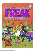Bronze Age (1970-1979):Alternative/Underground, The Fabulous Furry Freak Brothers #2 Pink Page edition (Rip Off Press, 1973) Condition: FN+. This is the fifth printing of ...