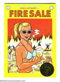 Modern Age (1980-Present):Alternative/Underground, Fire Sale #nn Presentation Copy First printing (Rip Off Press,1990) Condition:VF/NM. In June of 1989 the comic book world a...