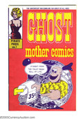"Silver Age (1956-1969):Alternative/Underground, Ghost Mother Comics #1 (Pirate Press, 1969) Condition: VF. A toughto find, in any shape, Underground by John ""Mad"" Peck. ""M..."