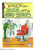 Bronze Age (1970-1979):Alternative/Underground, Jesus Meets the Armed Services nn First printing (Rip Off Press, 1970) Condition: VG+. Rarely offered for sale, first printi...