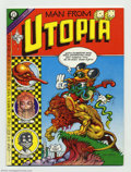 Bronze Age (1970-1979):Alternative/Underground, Man From Utopia #1 (San Francisco Comic Book Company, 1972) Condition: NM. One of the few Undergrounds that is 100% Rick Gri...