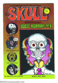 Bronze Age (1970-1979):Alternative/Underground, Skull Comics #1 First printing (Rip Off Press, 1970) Condition: NM-. The first Underground comic where the stories are EC sp...