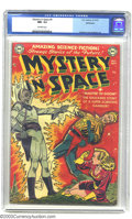 Golden Age (1938-1955):Science Fiction, Mystery in Space #4 Bethlehem pedigree (DC, 1951) CGC NM- 9.2Off-white pages. This electrifying Carmine Infantino cover del...