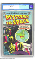 Golden Age (1938-1955):Science Fiction, Mystery in Space #13 (DC, 1953) CGC NM- 9.2 Off-white pages. You can always count on Murphy Anderson for his unmatched abili...