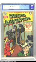 Golden Age (1938-1955):Science Fiction, Strange Adventures #8 (DC, 1951) CGC VF+ 8.5 Cream to off-whitepages. Win Mortimer gave us one of the earliest DC gorilla c...