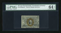 Fractional Currency:Second Issue, Fr. 1244SP 10c Second Issue Narrow Margin Face PMG Choice Uncirculated 64 EPQ....