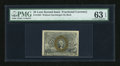Fractional Currency:Second Issue, Fr. 1283 25c Second Issue PMG Choice Uncirculated 63 EPQ....