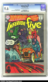 The Inferior Five #1 (DC, 1967) CGC NM+ 9.6 Off-white to white pages. For those of you who like a dose of humor along wi...