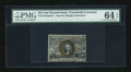 Fractional Currency:Second Issue, Fr. 1314SP 50c Second Issue Narrow Margin Face PMG Choice Uncirculated 64 EPQ....