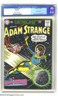 Golden Age (1938-1955):Science Fiction, Showcase #19 Adam Strange (DC, 1959) CGC FN 6.0 Off-white to whitepages. Adam Strange gets his own logo for the first time ...