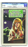 Bronze Age (1970-1979):Horror, House of Secrets #92 (DC, 1971) CGC VF/NM 9.0 Off-white to whitepages. This is the classic Berni Wrightson cover that broug...