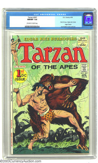 Tarzan #207 (DC, 1972) CGC NM/MT 9.8 Off-white to white pages. This is the first DC issue of Tarzan, with cover and inte...