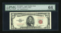Small Size:Legal Tender Notes, Fr. 1535* $5 1953C Legal Tender Note. PMG Choice Uncirculated 64.. ...