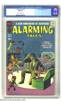 Silver Age (1956-1969):Horror, Alarming Tales #4 (Harvey, 1958) CGC NM 9.4 Cream to off-whitepages. Jack Kirby and Bob Powell art highlight this beauty th...