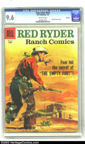 Silver Age (1956-1969):Western, Four Color #916 Red Ryder Ranch Comics File Copy (Dell, 1958) CGCNM+ 9.6 Off-white pages. This issue marks the last of a lo...