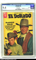 """Silver Age (1956-1969):Western, Movie Classics """"El Dorado"""" - File Copy (Dell, 1967) CGC NM 9.4Off-white pages. Here's one for the many fans of beloved acto..."""