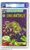 Silver Age (1956-1969):Horror, Unearthly Spectaculars #1 Pacific Coast pedigree (Harvey, 1965) CGCNM+ 9.6 Off-white to white pages. Scarce first issue of ...