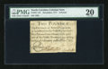 Colonial Notes:North Carolina, North Carolina December, 1771 L2 PMG Very Fine 20....