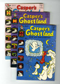 Bronze Age (1970-1979):Cartoon Character, Casper's Ghostland File Copies Group (Harvey, 1965-70) Condition:Average VF.... (Total: 9 Comic Books)