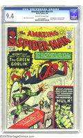 Silver Age (1956-1969):Superhero, Amazing Spider-Man #14 (Marvel, 1964) CGC NM 9.4 Off-white to white pages. With the possible exception of the premiere issue...