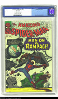 Silver Age (1956-1969):Superhero, Amazing Spider-Man #32 (Marvel, 1966) CGC NM 9.4 Off-white to white pages. One of the Silver Age's grand masters, Steve Ditk...
