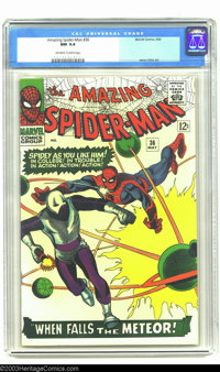 Amazing Spider-Man #36 (Marvel, 1966) CGC NM 9.4 Off-white to white pages. This issue is harder to find in this grade th...