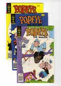Bronze Age (1970-1979):Cartoon Character, Popeye File Copies Group (Gold Key, 1978-80) Condition: AverageVF/NM.... (Total: 16 Comic Books)