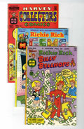 Bronze Age (1970-1979):Humor, Richie Rich First Issues File Copies Group (Harvey, 1975-77)Condition: Average VF+.... (Total: 4 Comic Books)