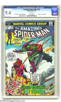 Bronze Age (1970-1979):Superhero, Amazing Spider-Man #122 (Marvel, 1973) CGC NM 9.4 White pages. Inthe pulse-pounding follow-up to the death of Gwen Stacy, t...
