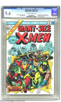 Bronze Age (1970-1979):Superhero, Giant-Size X-Men #1 (Marvel, 1975) CGC NM+ 9.6 Off-white to whitepages. What can we say about this landmark comic that hasn...