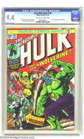 Bronze Age (1970-1979):Superhero, The Incredible Hulk #181 (Marvel, 1974) CGC 9.4 Off-white to whitepages. Few characters from the Bronze Age have had as muc...
