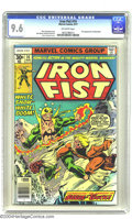 Bronze Age (1970-1979):Superhero, Iron Fist #14 (Marvel, 1977) CGC NM+ 9.6 Off-white pages. Thisgreat comic featured the first appearance of Sabretooth, by t...